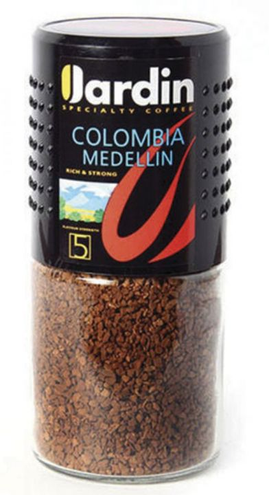 Кофе Жардин Колумбия Меделин раств. в/с ст/б 95г