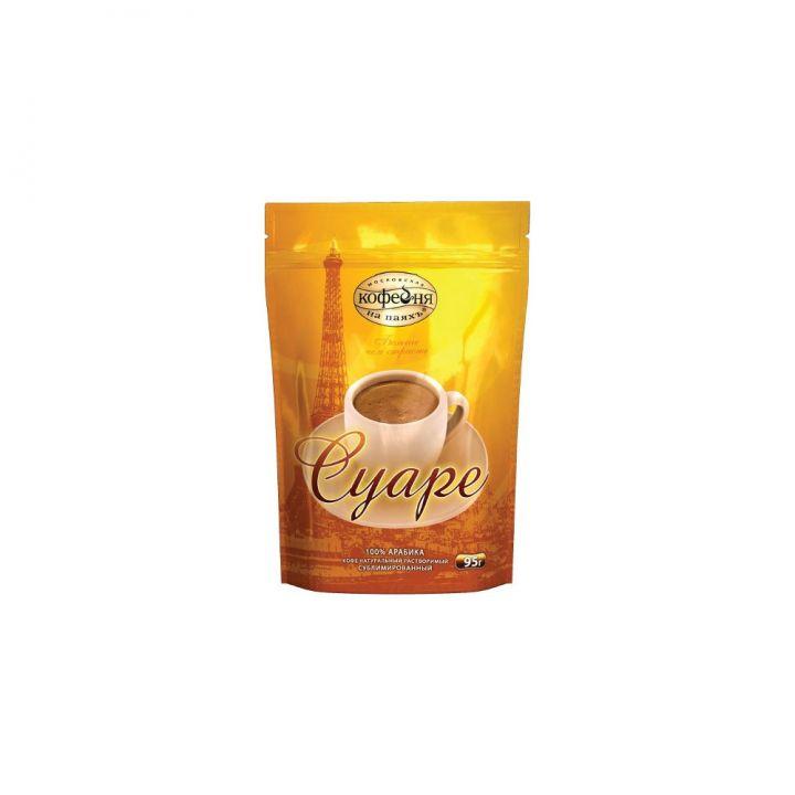 Кофе МКП Суаре крист. 95г пакет