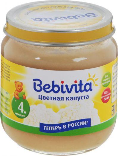 Пюре Bebivita овощ. Цв.капуста 100г
