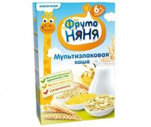 Каша Фрутоняня мультизлаковая с молоком 200 г