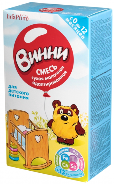 Мол.смесь ВИННИ адаптированная 350г