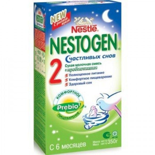 Мол.смесь НЕСТОЖЕН-2 с пребиотиками 350г
