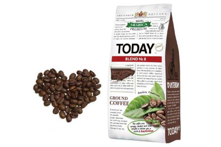 Кофе Today Blend №8 молотый 200г