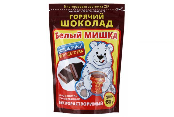 Горячий шоколад Белый Мишка 150г