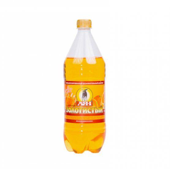 Газ. вода Золотой апельсин 1л пэт АЯН