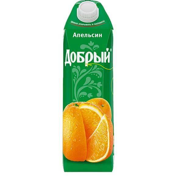 Нектар Добрый 1л Апельсин