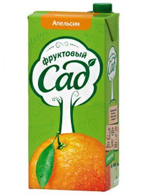 Нектар Фруктовый Сад 1,93л Апельсин
