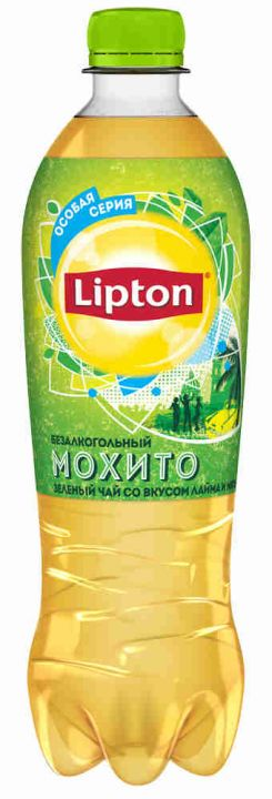 Чай Липтон 1л Мохито пэт Пепси
