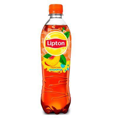 Чай Липтон 1л Персик пэт Пепси