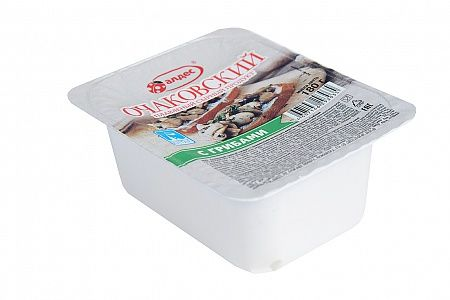 Сырный продукт Очаковский Грибы 55% плавленный 180г