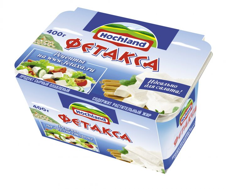 Сырный продукт Фетакса 48% 400г Хохланд