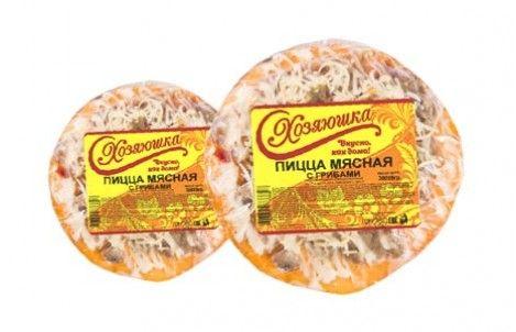 Пицца Хозяюшка мясная с грибами 0,3 кг, Красноярск