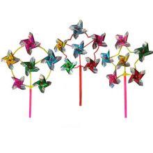 """Вертушка """"Ветерок, 6 цветков"""", 45 см."""