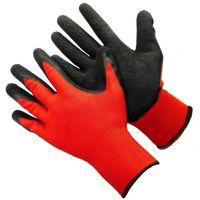 Нейлоновые перчатки с нитриловым покрытием, 12 пар