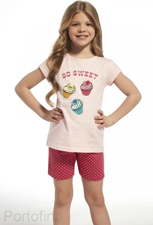 253-63 Пижама для девочек Cornette
