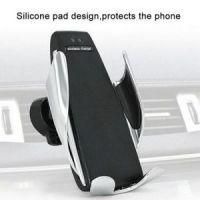 Беспроводная автомобильная зарядка-держатель с сенсорным датчиком Penguin Smart SenSor S5 (5)