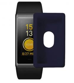 Защитный бампер для Xiaomi Amazfit Cor (темно-синий)