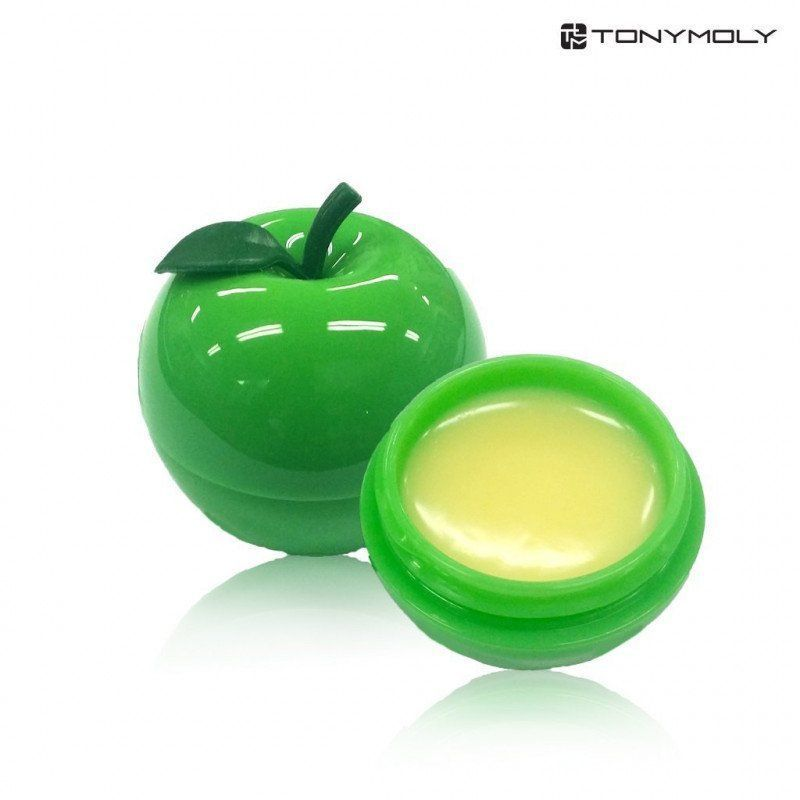 Tony Moly Mini Green Apple Lip Balm Бальзам для губ