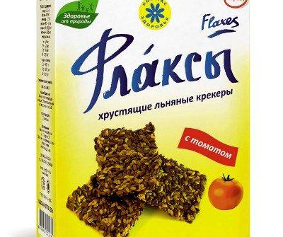 Флаксы с томатом Компас здоровья - 120 гр