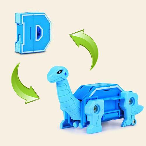 """Трансбот """"Lingvo Zoo"""" """"D-Бронтозавр"""" 1Toy"""