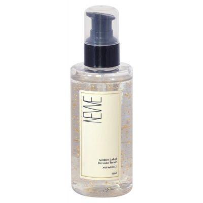 NEWE Golden Label De Luxe Toner Anti-Wrinkle Антивозрастной лосьон для лица с частицами золота
