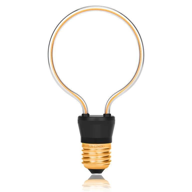 Лампа светодиодная E27 4W 2200К 057-257