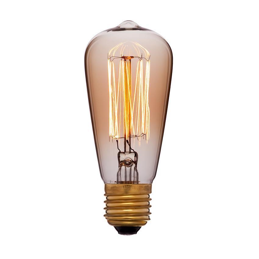 Лампа накаливания E14 25W золотая 053-587