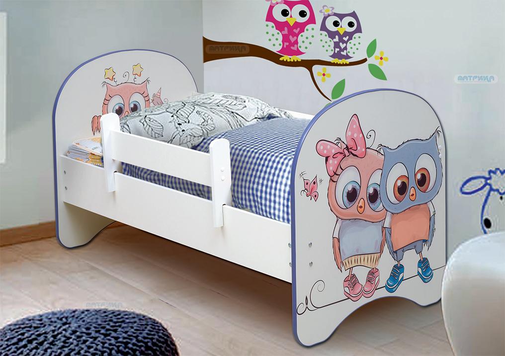 Кровать детская с фотопечатью без ящика (от 700 до 800)