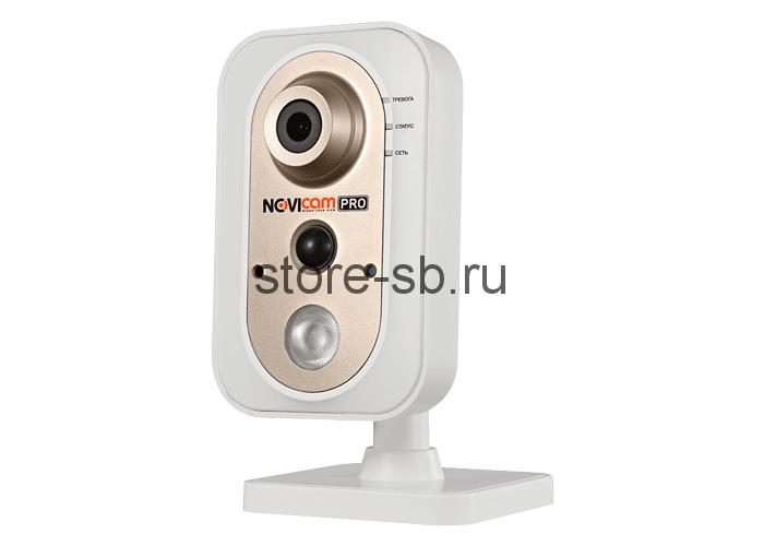 NOVICAM PRO NC24FP  - Компактная внутренняя IP видеокамера Wi-Fi