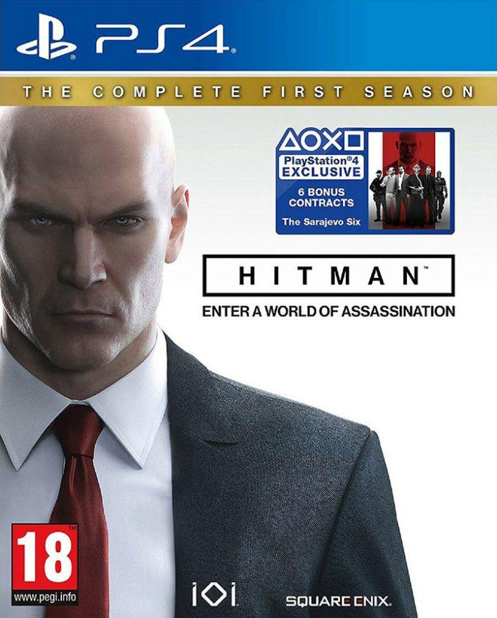 Игра Hitman The Complete First Season (PS4)
