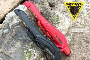 Чехол рыболовный Wefox WAX - 2003 чёрный  145 см