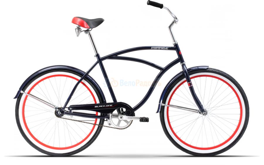 Велосипед круизер Black One Mirage 26 (2018)