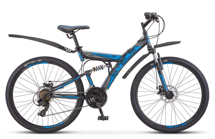 Велосипед двухподвес Stels Focus MD 26 21-sp V010 (2019)