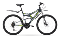 Велосипед двухподвес Black One Hooligan FS 26 D (2019)