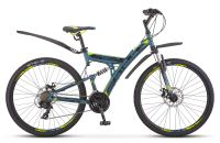 Велосипед двухподвес Stels Focus MD 27.5 21-sp V010 (2020)