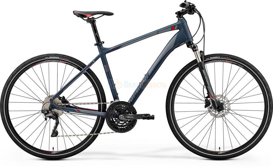 Велосипед гибрид Merida Crossway 600 (2019)