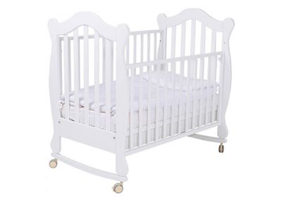 Детская кроватка качалка Papaloni FAVOLA