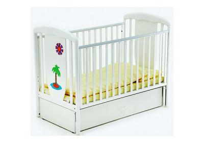 Детская кроватка маятник Papaloni Vitalia