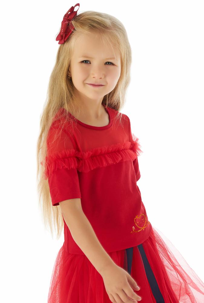 Блузка для девочки Малинка