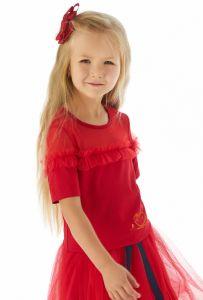 Праздничная блузка для девочки