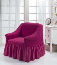 """Чехол для кресла """"BULSAN"""" (фуксия)  Арт.1797-17"""