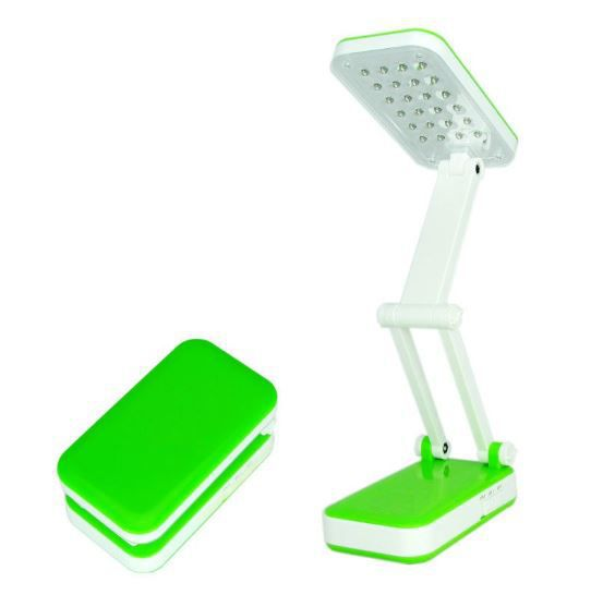 Лампа Настольная TOP WELL LED, Цвет Салатовый