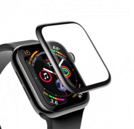 Защитное стекло для Apple Watch Devia 44mm 3D Full Screen
