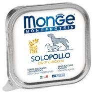 Monge Dog Monoprotein Solo консервы для щенков паштет из курицы 150г