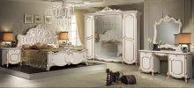Спальня ЛОРЕНА 6-дверный шкаф, эмаль