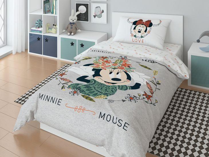 """Детское постельное белье """"Miсkey gray"""" 1,5 спальный 718066"""