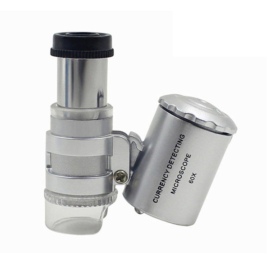 Мини-микроскоп с LED подсветкой
