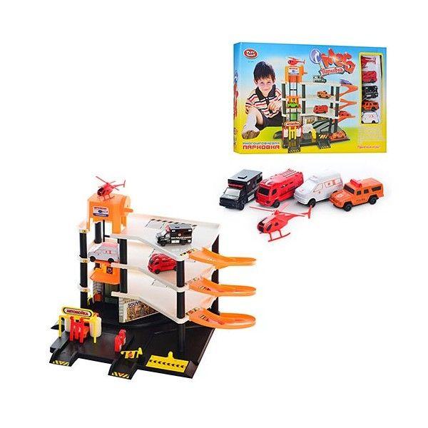 Детский гараж парковка для машинок Joy Toy Мега парковка 0846