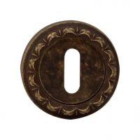 Накладка на межкомнатный замок Melodia Cab 50 D. античная бронза