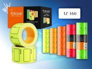 Ценник самоклеящийся цветной, 35х25 мм, 220 шт. в рулоне (арт. TZ 160)